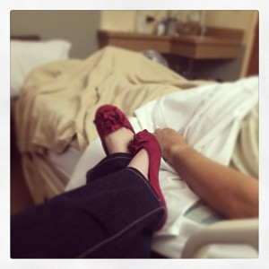 hospital feet