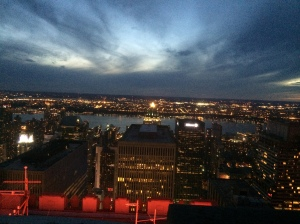 "View from ""Top of the Rock"", Rockefeller Center"