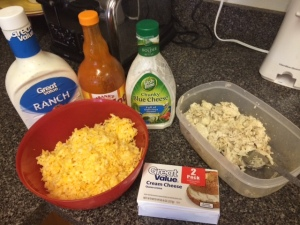 buffalo chicken ingredients