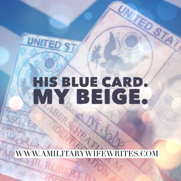 His Blue Card My Beige